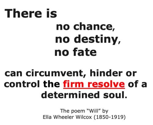 No Chance no destiny no fate. quote.jpg